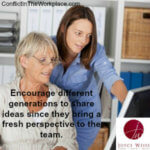 Keys to Develop The Next Generation in the Work Place