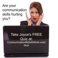 communication strategies |Joyce Weiss | Communication Strategist | Career Coach | assessment