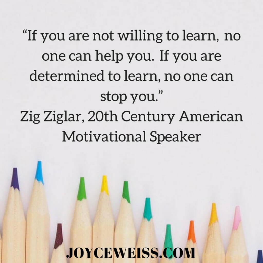 motivational quote | Joyce Weiss | Career Coach