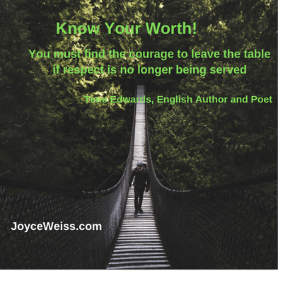motivational quote | Joyce Weiss | Career Quote