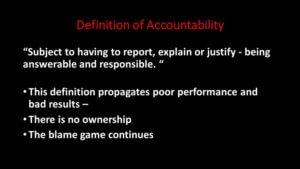 accountability strategies