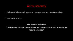 accountability strategy