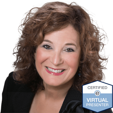 Joyce Weiss, Certified Visual Presenter with Espeakers