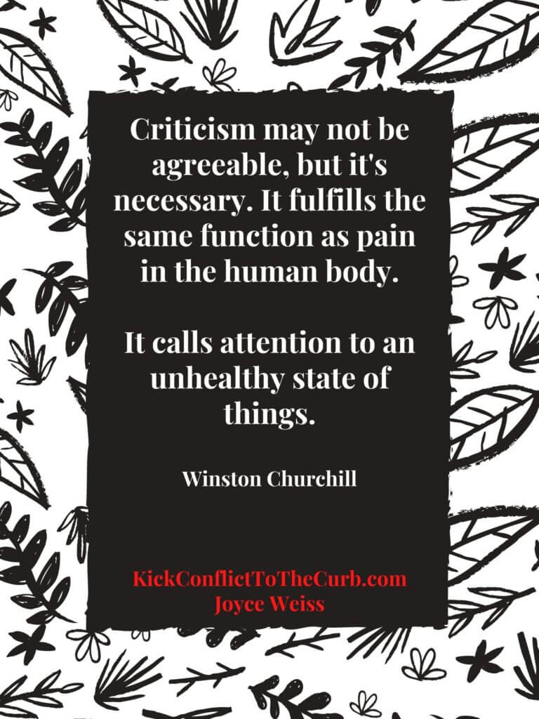 healthy conflict | Winston Churchill