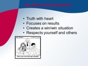 diffuse defensive behavior